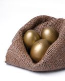 Golden egg Stock Photos