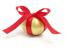 Golden egg gift Royalty Free Stock Images