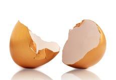 Golden egg stock photography