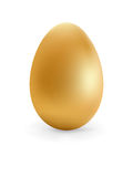 Golden egg happy Easter.  + EPS8 Stock Photos