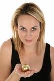 Golden Egg Metaphor Concept Royalty Free Stock Photos