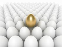 The Golden Egg v2 Royalty Free Stock Images