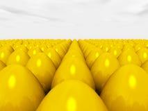 Golden Eggs Stock Image