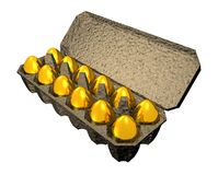 Golden_eggs Royalty Free Stock Images