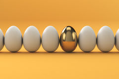 Golden Eggs, finance concept Royalty Free Stock Photography