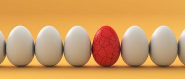 Golden Eggs, finance concept Stock Image
