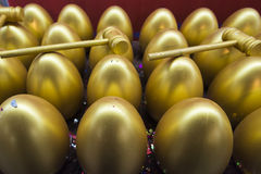 The golden eggs Royalty Free Stock Photo
