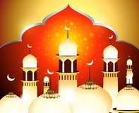 Golden Eid Background Royalty Free Stock Photography