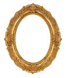 Golden elegant picture frame Stock Photo