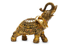 Golden elephant Royalty Free Stock Photography