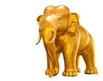 Golden elephant Royalty Free Stock Photo