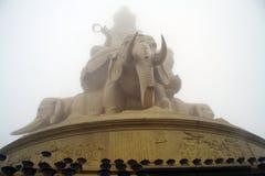 Golden elephant Stock Photos