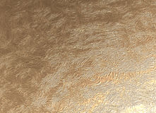 Golden embossed pattern Royalty Free Stock Photo