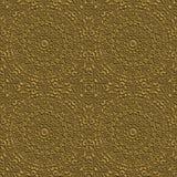 Gold Effekt Seamless Ornament Pattern royalty free stock image