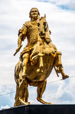 Golden equestrian Royalty Free Stock Photography