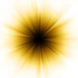 Golden explosion of light. EPS 8 Royalty Free Stock Images