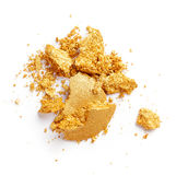 Golden eye shadow Royalty Free Stock Photography