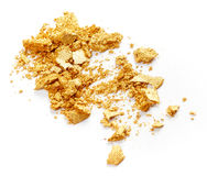 Golden eye shadow Royalty Free Stock Photos