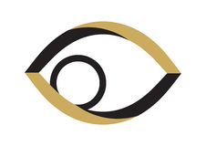 Golden Eye - Vector Royalty Free Stock Images