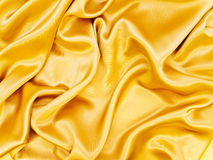 Golden fabric Royalty Free Stock Images