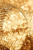 Golden fabric Royalty Free Stock Photos