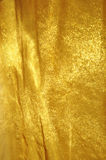 Golden fabric background Royalty Free Stock Image