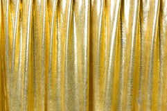 Golden fabric background Royalty Free Stock Photography
