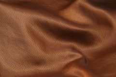 Golden fabric background Stock Photo