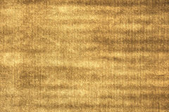 Golden fabric texture Royalty Free Stock Image