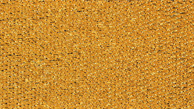 Golden fabric texture Stock Image