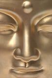 A golden face. Royalty Free Stock Photos