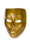 Golden Face Mask Stock Images