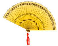 Golden Fan Royalty Free Stock Photography