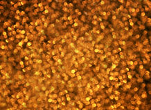 Golden festive background of lots of bright  circles Royalty Free Stock Photo