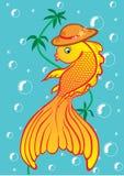 Golden fish Royalty Free Stock Photo