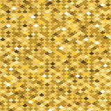 Golden fish scale seamless pattern Stock Photos