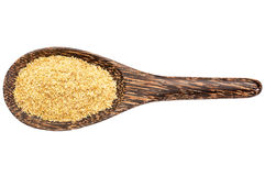 Golden flax meal Stock Photos