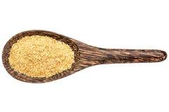 Golden flax meal Stock Photos