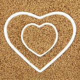 Golden Flax Seed Royalty Free Stock Photo
