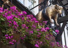 The Golden Fleece Public House in York Stock Image
