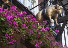 The Golden Fleece Public House in York Stock Image