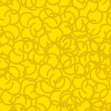 Golden fleece seamless pattern. Yellow fur ram texture.  Stock Photography