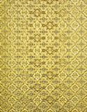 Golden floral background Stock Image
