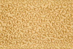Golden floral background Stock Photo