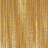 Golden floral ornament on wooden board Stock Photography