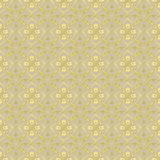 Golden floral pattern seamless background Royalty Free Stock Photo
