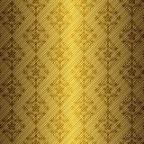 Golden floral seamless pattern Royalty Free Stock Photo