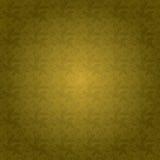 Golden floral tile Stock Photo