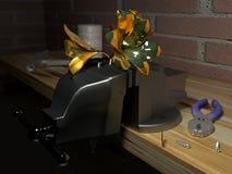 Golden   flower Stock Images