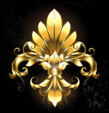 Golden Flower Royalty Free Stock Photos